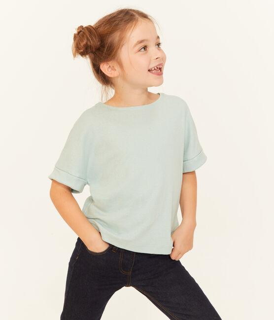 Camiseta manga corta infantil para niña CRYSTAL