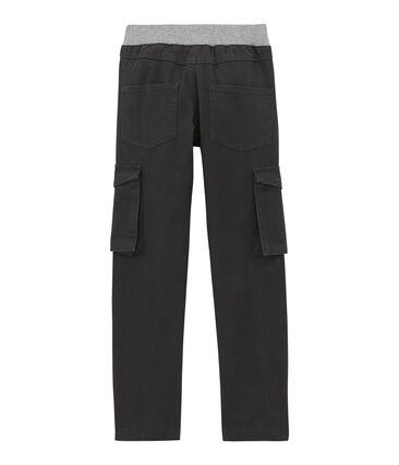 Pantalón en gabardina para niño