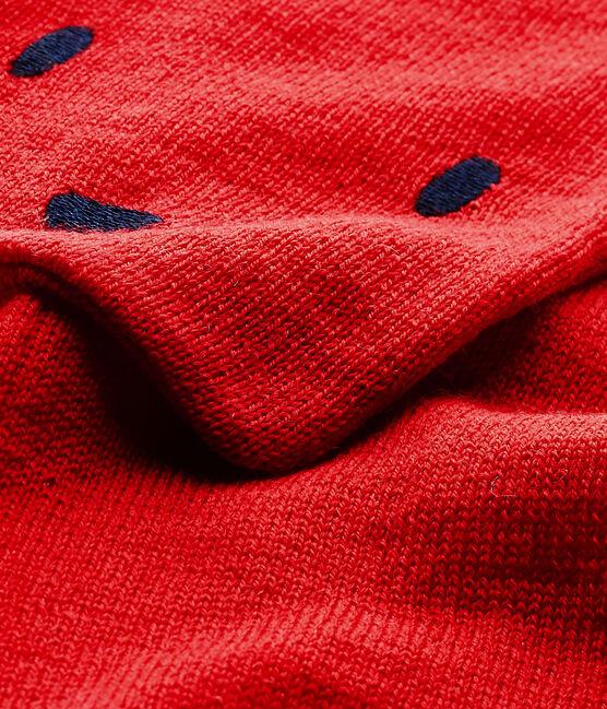 Bufanda para bebé mixto rojo Froufrou