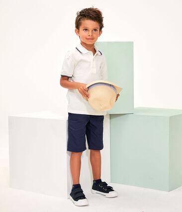 Polo de niño blanco Marshmallow