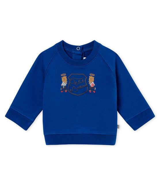Sudadera para bebé niño azul Limoges