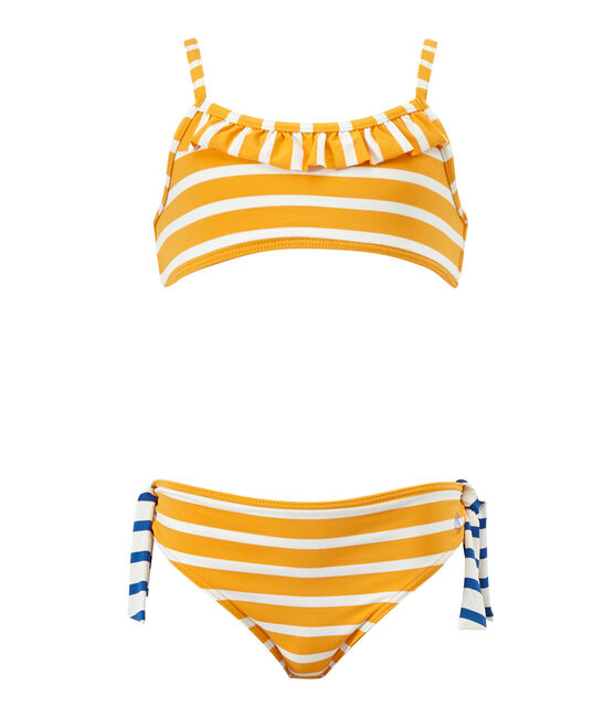 Bikini naranja Fusion / blanco Marshmallow