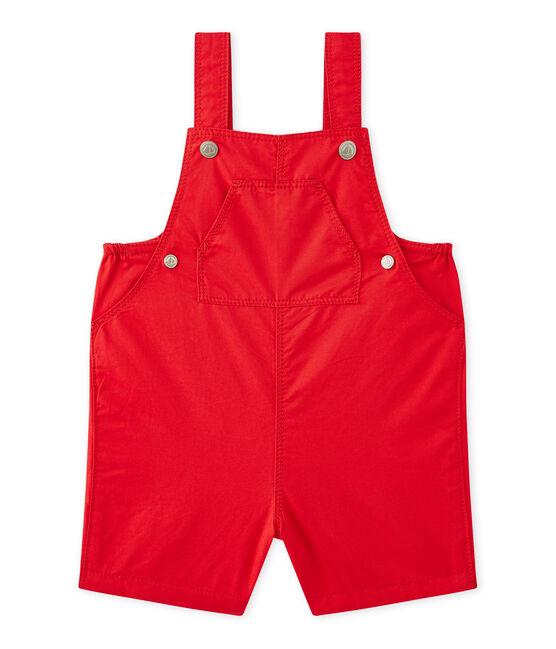 Peto corto para bebé niño rojo Terkuit