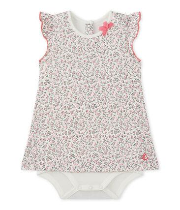 01676ca49 Vestido-body bebé niña estampado