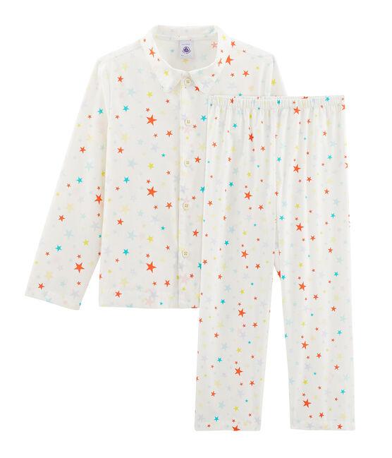 Pijama de sarga para niño blanco Marshmallow / blanco Multico
