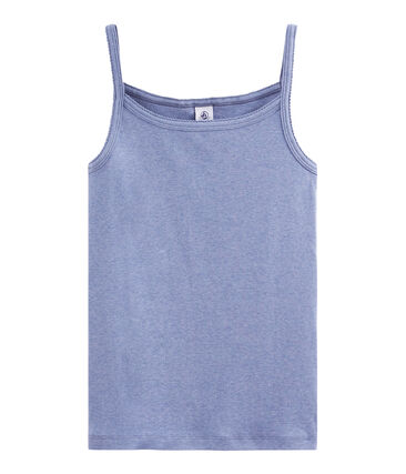 Camisa con tirantes de mujer azul Captain Chine