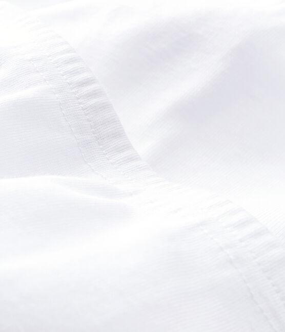 Juego de 2 pantalones con pies blancos para bebé blanco Ecume