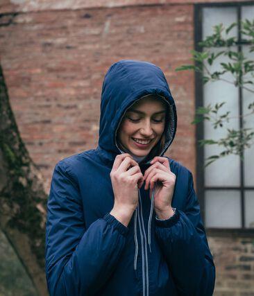 Cortavientos cálido unisex azul Smoking