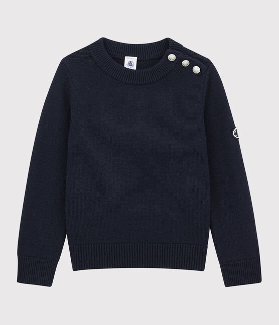Jersey de lana y algodón para niña SMOKING