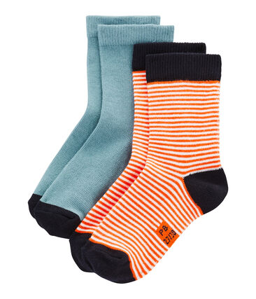 Lote de 2 pares de calcetines infantiles unisex