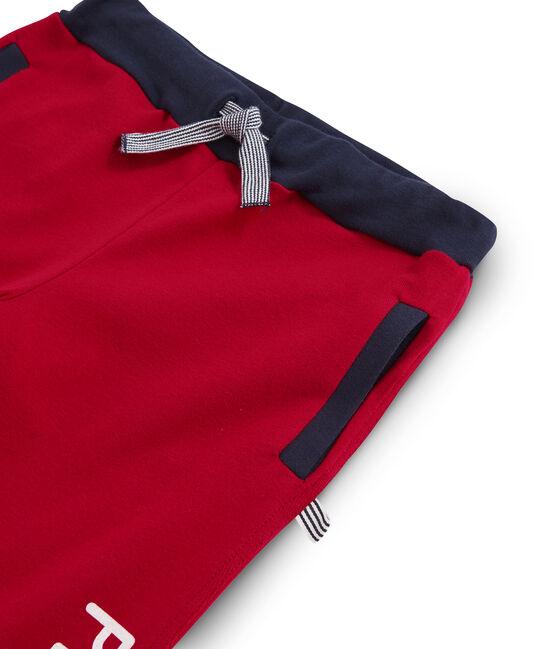 Jogging de canalé para niño rojo Terkuit