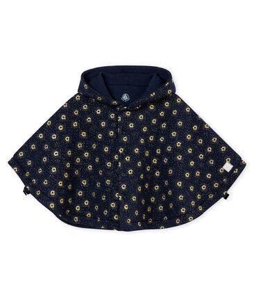 Capa en túbico para bebé mixto azul Smoking / amarillo Dore