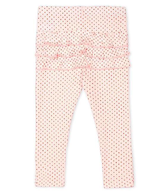 Leggings estampados para bebé niña rosa Fleur / rosa Copper