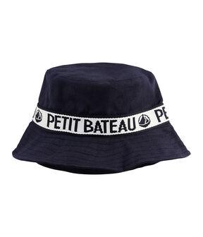 Sombrero bob de sarga azul Smoking