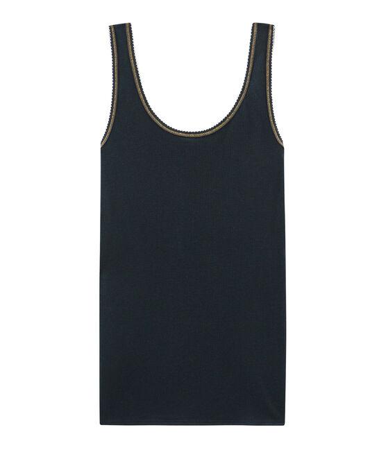 Camiseta de tirantes para mujer de punto 2x2 SMOKING