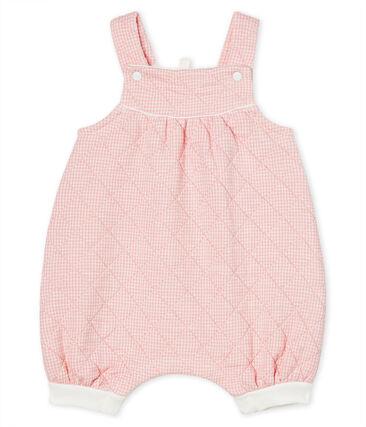 Peto corto para bebé de túbico acolchado