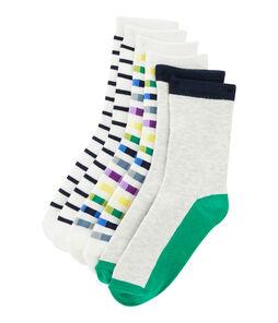 Lote de 3 pares de calcetines niño lote .