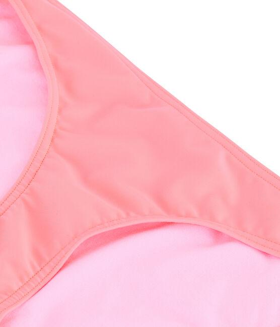 Braguita de biquini ecorresponsable para mujer rosa Fluo Rose