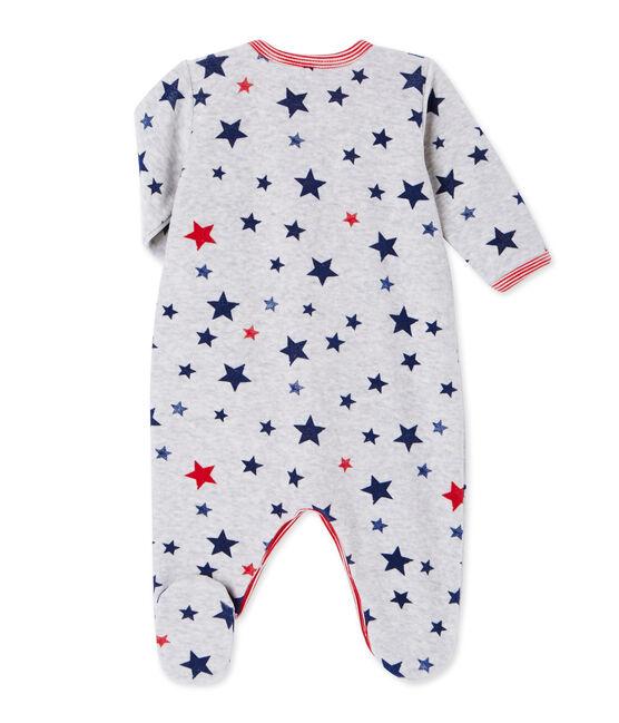 Pijama estampado para bebé niño gris Beluga / blanco Multico