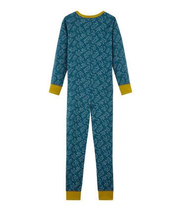 Mono largo infantil de algodón para niño