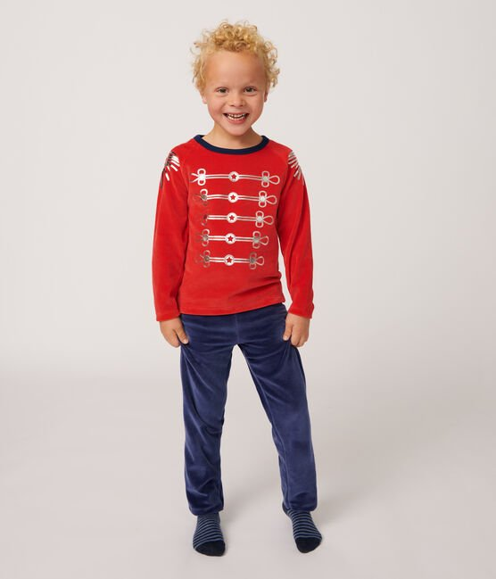 Pijama de disfraz de terciopelo para niño pequeño MEDIEVAL/FROUFROU