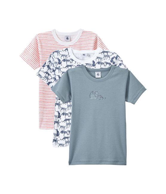 Lote de 3 camisetas de manga corta para niño lote .
