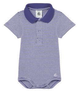 Polo manga corta cuello polo milrayas para bebé niño