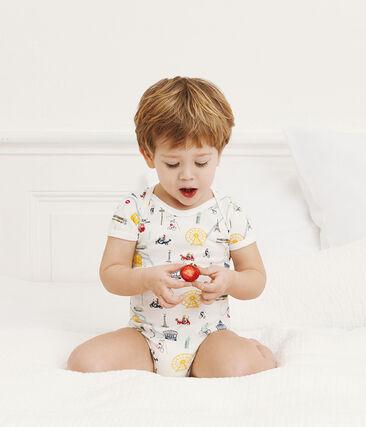 Tres bodis de manga corta para bebé niño lote .