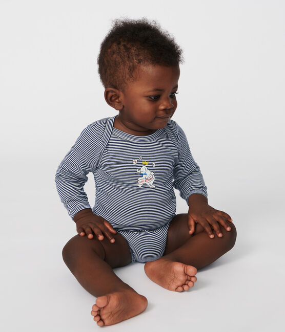 Juego de 5 bodis de manga larga para bebé niño lote .