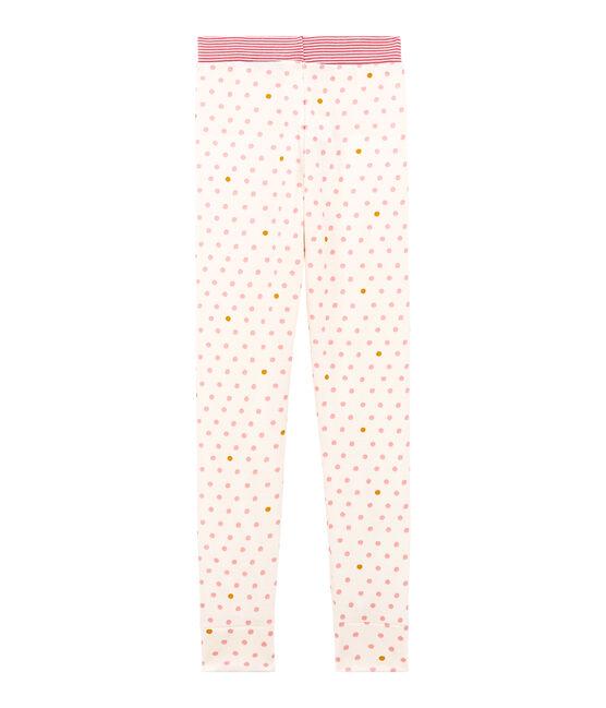 Pantalón de pijama para niña blanco Marshmallow / blanco Multico