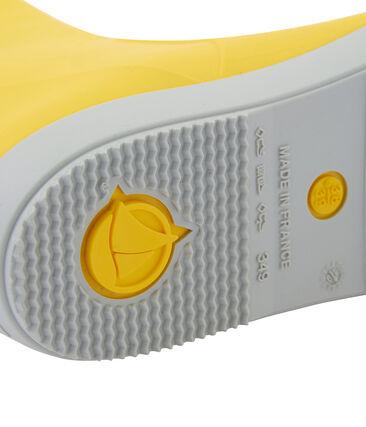 Botas para la lluvia amarillo Jaune