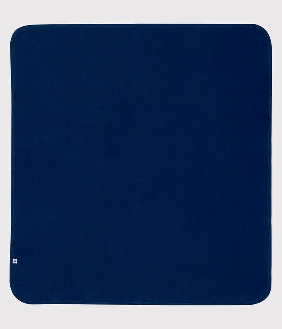 Mantita reflectante de punto de doble cara azul Smoking / blanco Ecume