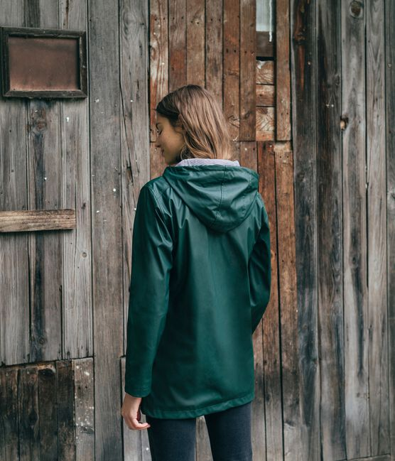Impermeable unisex verde Sherwood