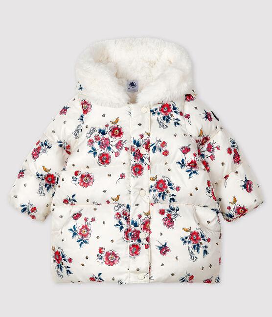 Plumón para bebé niña blanco Marshmallow / blanco Multico