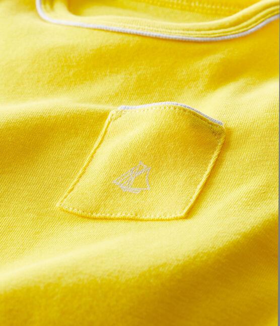 Tee shirt manches courtes bébé garçon amarillo Shine
