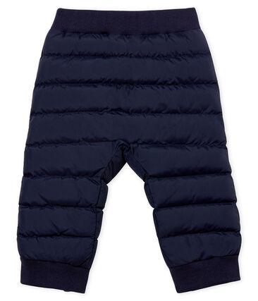 Pantalón de bebé en cálido plumón unisex