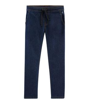 Pantalón vaquero de niño azul Denim Bleu Fonce