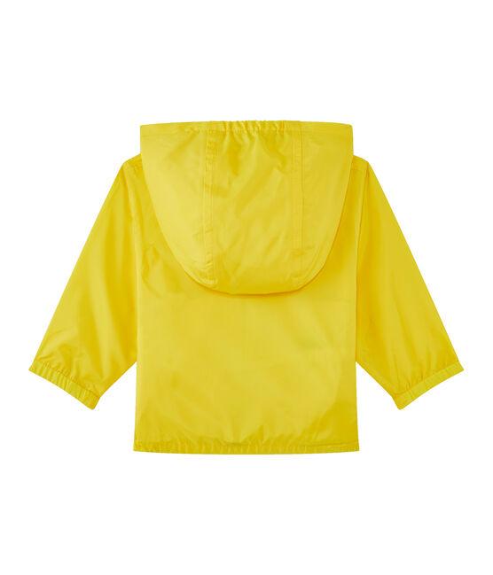 Corta viento mixto amarillo amarillo Jaune