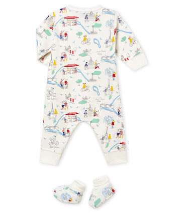 Conjunto de pijama y patucos para bebé niña