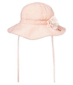 Sombrero de rayas para bebé niña