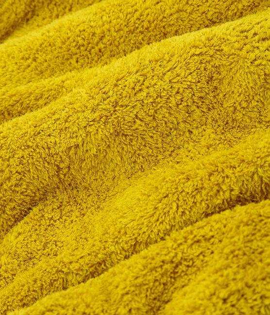 Toalla de baño infantil/adulto unisex amarillo Bamboo