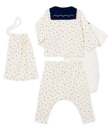 Conjunto 4 piezas estampado para bebé niño