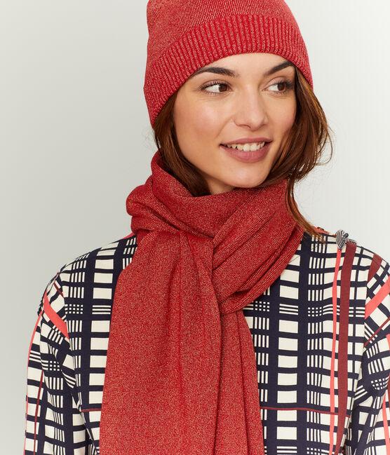 Bufanda brillante para mujer rojo Terkuit / rojo Terkuit Brillant