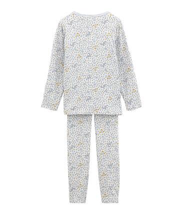 Pijama de tela túbica para niña