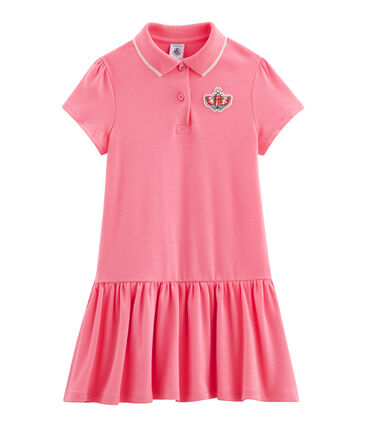 Vestido de niña rosa Cupcake