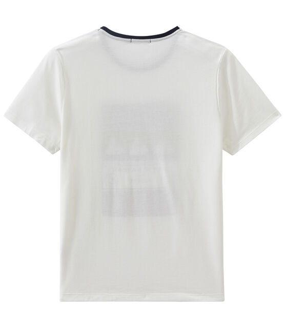 Camiseta MC unisex blanco Marshmallow