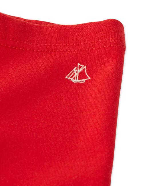 Legging para bebé niña. rojo Froufrou