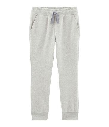 Pantalón de niño gris Beluga