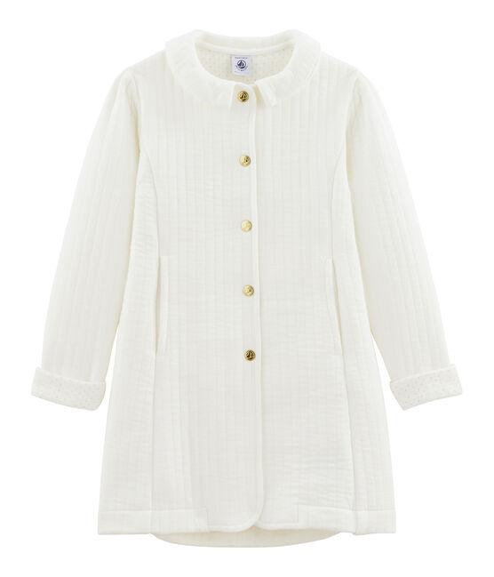 Abrigo de niña blanco Marshmallow