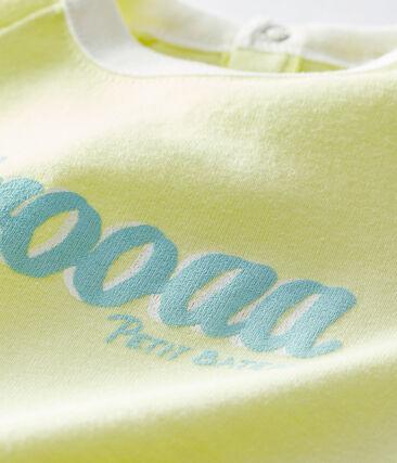 Camiseta de manga corta para bebé niño amarillo Sunny